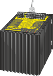 DC-UPS with RS- or USB-interface