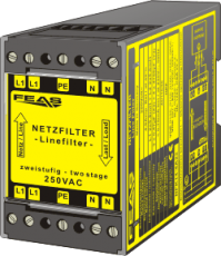 Radio interference supression filter NFK14-4A22