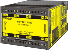 Radio interference supression filter NFK30-4A31